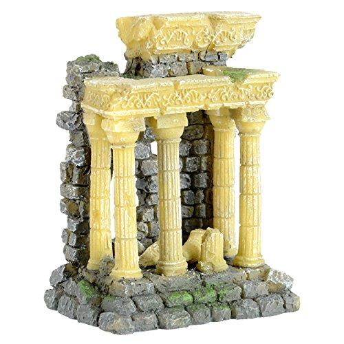(Underwater Treasures 65244 Roman Ruins Aquarium Ornament)