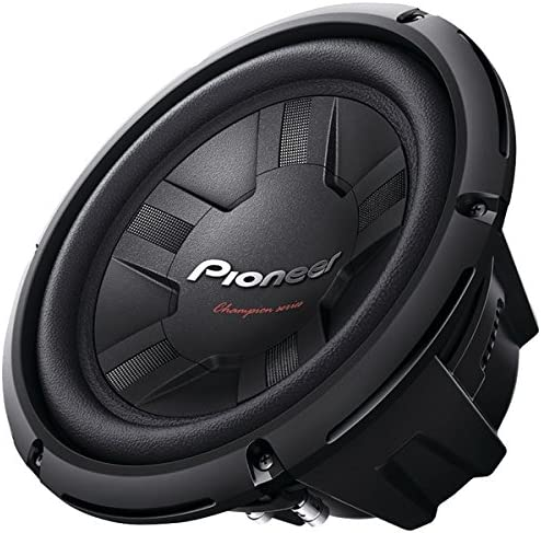 PIONEER TS-W261S4 10 1,200-Watt 4_ Champion Series Subwoofer Single Voice Coil