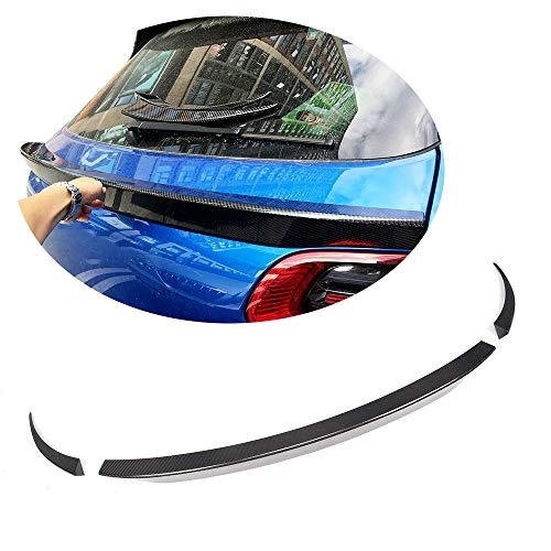 MCARCAR KIT Rear Spoiler fits Porsche Macan SUV 4Door 2014-2018 Customized Carbon Fiber CF Middle Window Top Wing Lip