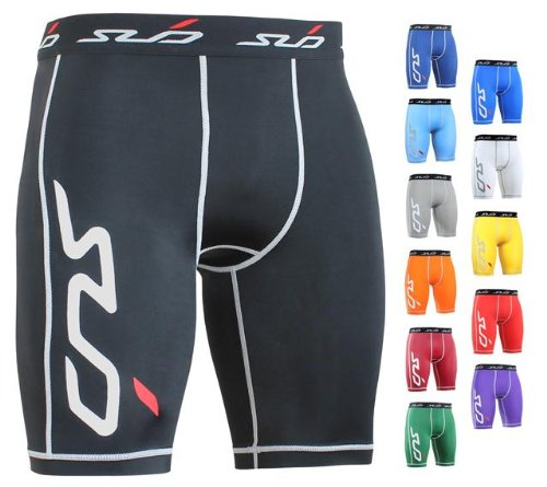 Sub Sports DUAL Men's Compression Base Layer Shorts