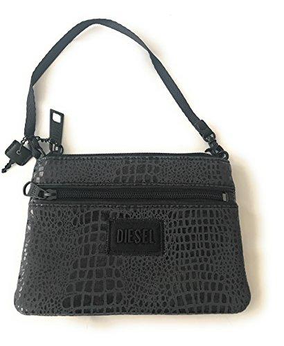 Case Bag Jeena Men's Key Wallet Croco 'N' 13x18 Grey Key Hxw Clutch Taschenorganizer Women's Neo Purse Black fqxU81vwE