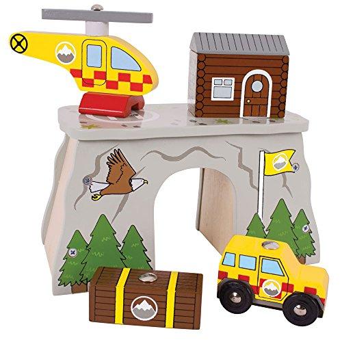 Bigjigs Rail Mountain Rescue for Train Set