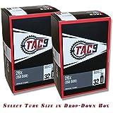 """TAC 9 Bike Tubes, 26"""" Standard Schrader Valve - Select Your Size"""