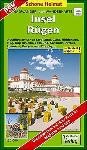 Stralsund Karte.Radwander Und Wanderkarte Insel Rügen Ausflüge Zwischen Stralsund
