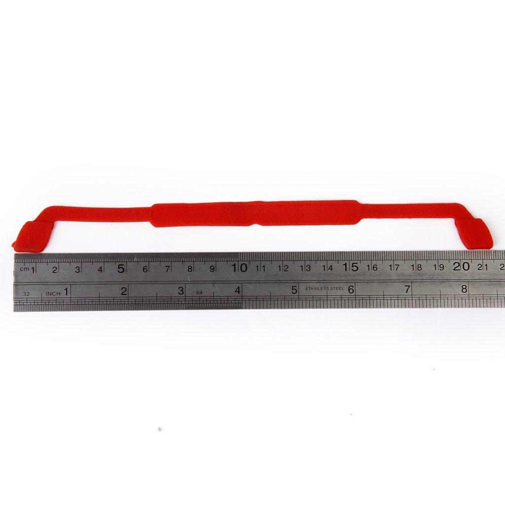 Rosso Taglia unica Sharplace Catena in Rilievo Cinghia per Occhiali da Sole Elastici in Silicone per Bambini