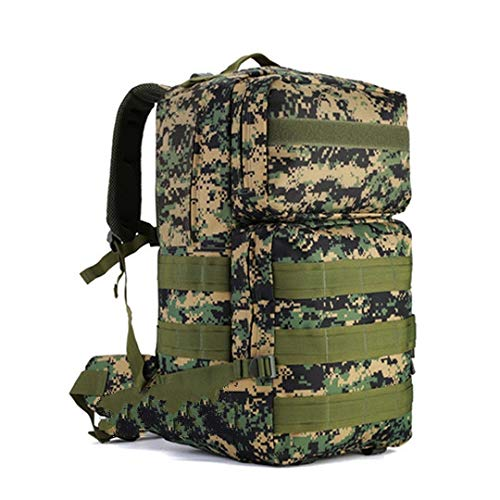 SQB Rucksäcke 55 Liter Outdoor Bergsteigen Tasche große Kapazität militärischen Fan taktischen Rucksack wasserdicht Reise Feld Rucksack