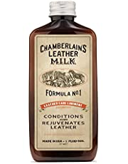 Chamberlains Leather Milk - Formula no. 1 - Conditioner for Furniture, Cars, Purses and Handbags. All-Natural, Non-Toxic, Made in the USA. Leather Care Liniment No. 1 Includes Premium Applicator Pad