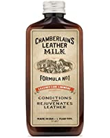 Leather Milk Conditioner - Liniment No. 1 | Conditioner & Cleaner for Leather Bags, Furniture, Apparel, Auto, Footwear, & More. Two Sizes! Free Cleaning Pad! Trusted by Saddleback