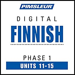 Finnish Phase 1, Unit 11-15