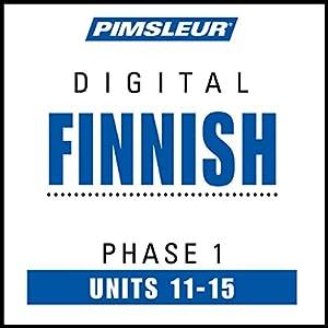 Finnish Phase 1, Unit 11-15 Audiobook