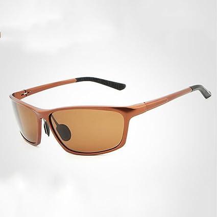 Meetyou Conocerla Polarizado Gafas De Sol De Aluminio Magnesio Color Película Noche Visión Moda Pesca Montar
