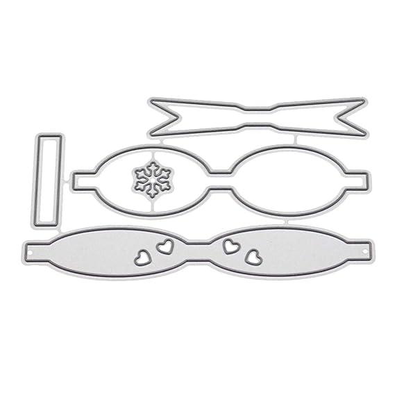 BETOPOP - Plantillas de Metal con Forma de Corbata para Hacer ...