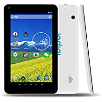 Indigi 7 W70 SilkWhite Quad-Core Android 4.4 Tablet PC + WiFi + Bluetooth