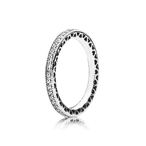 anello cuori pandora