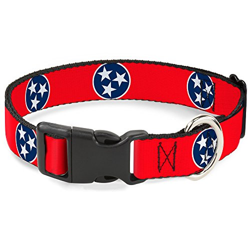 "Buckle-Down 13-18"" Tennessee Flag Stars Red/White/Blue Pl..."
