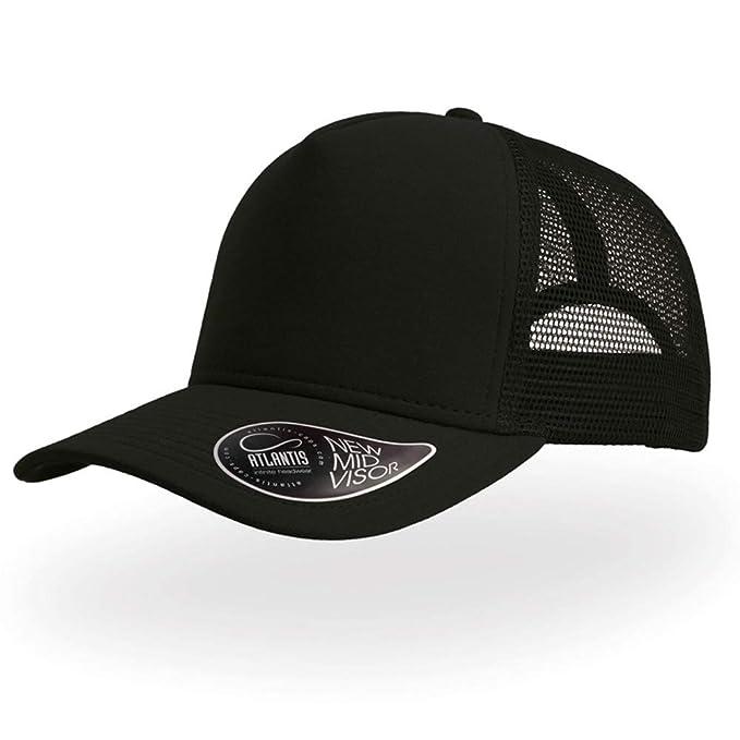 a4286ee7 Atlantis Mens Cotton Summer Trucker Cap Baseball Cap Dad Hats Outdoor Casual  Sun Caps Adjustable Black