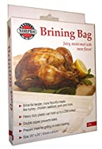 Brining Bag Holds 25LB Turkey Seafood Pork Beef Chicken Leakproof Seal