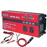 SAILFLO Power Inverter 2000W Peak DC 12V to AC 110V Car Converter Adapter