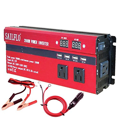 2000w-power-inverter-3-ac-outlets-4-usb-cigarette-lighter-adapter-and-car-battery-clips-cooling-fanlow-battery-voltage-alarm