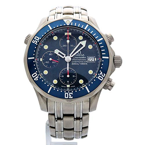 - Omega Seamaster Swiss-Automatic Male Watch 2298.80.00 (Certified Pre-Owned)