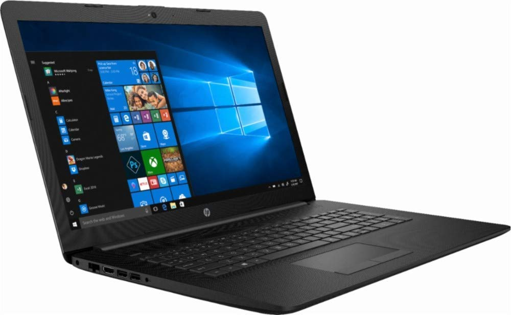 "HP 2019 Newest HP 17 17.3"" HD+ (1600x900) Premium Laptop (Intel Core i5-7200U, 8GB 2400 MHz DDR4, 1TB HDD, HDMI, Wi-Fi, Bluetooth, Ethernet Gigabit RJ-45, Windows 10 - Black)"