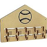 Azeeda 'Baseball' Wall Mounted Coat Hooks / Rack (WH00029522)