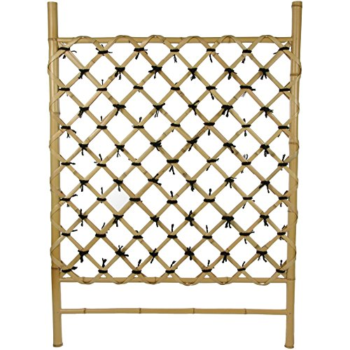(Oriental Furniture Bamboo Fence Door WD04-1)