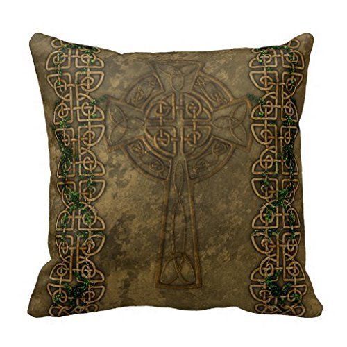 Breathing Yoga Celtic Cross And Celtic Knots Pillow Case 1818