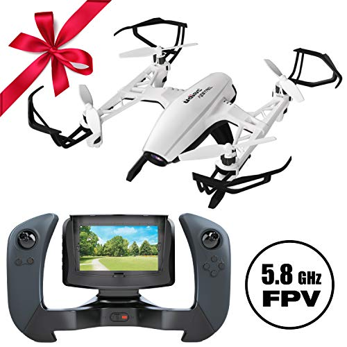 "Force1 Quadcopter Drone with Camera Live Video U835 Kestrel"" Drones with Camera for Adults and Kids w/ LCD Remote + SD Card + FPV Drone Camera"