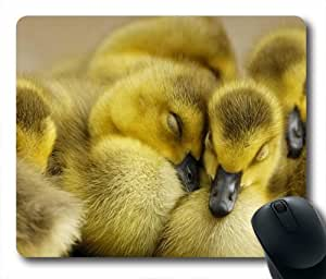Lovely Duckling Oblong Shaped Mouse Mat