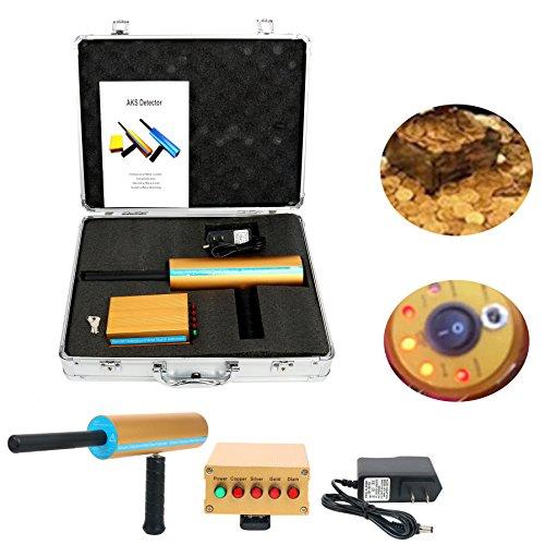 YaeCCC AKS Gold Metal Detector Long Search Range AKS 3D Gold Detector Professional Metal Detector Search Range 800M/2624ft Detecting Depth 14M/46ft (AKS 3D Gold Metal)