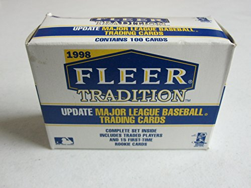 1998 Fleer Tradition Update Baseball Factory Sealed Complete Set #1-100 with Orlando Hernandez, Troy Glaus, and J.D. Drew Rookies