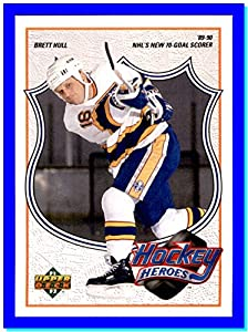 1991-92 Upper Deck Brett Hull Heroes #7 Brett Hull ST. LOUIS BLUES