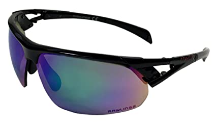 8841373c80a Image Unavailable. Image not available for. Color  Rawlings 28 Sunglasses  Black Green