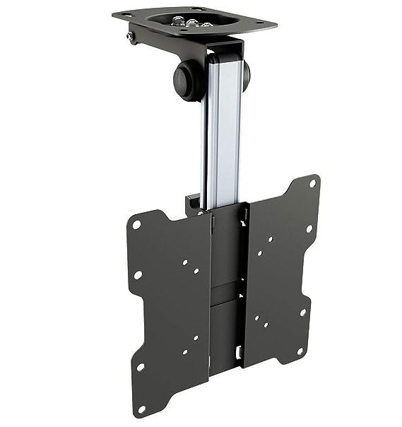 RICOO TV Deckenhalterung für Fernseher D0122 für ca. 13-33 Zoll (33-84cm)  Klappbar Decken Halter Universal auch für Curved LCD und LED Bildschirme &  ...