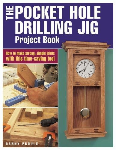 Pocket Hole Drilling Project Book product image