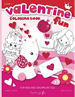 Valentine S Day Coloring Book Heart Cut Outs For Kids And 21