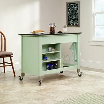 Amazon.Com: Sauder Original Cottage Mobile Kitchen Island In