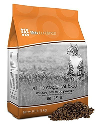 Life's Abundance All Life Stage Cat Food Bag
