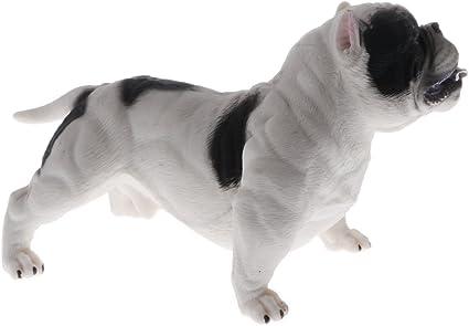 2pcs Lifelike American Bully Pitbull Animal Pet Dog Model Figure Toy Gift