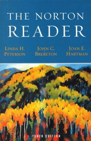 By Author The Norton Reader: An Anthology of Nonfiction Prose (10th) pdf epub