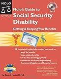 Nolo's Guide to Social Security Disability, David A. Morton and David A. Morton, 1413304109