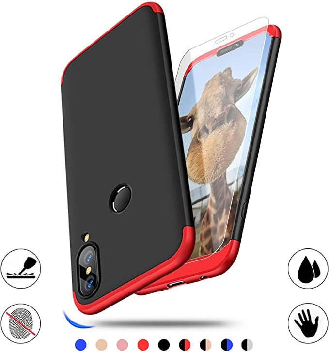 83 opinioni per AChris Huawei P20 Lite Custodia Rigida 3 in 1 360 Gradi Shockproof Sottile