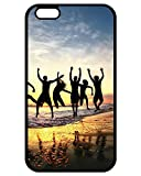 Hot iPhone 7 Case, Slim Fit Clear Back iPhone 7 Case, Joy at Costa Rica Theme Phone Accessories