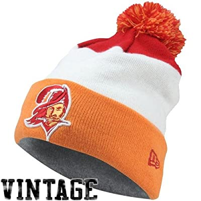 Men's New Era Tampa Bay Buccaneers On Field Classic Knit Hat One Size Fits All