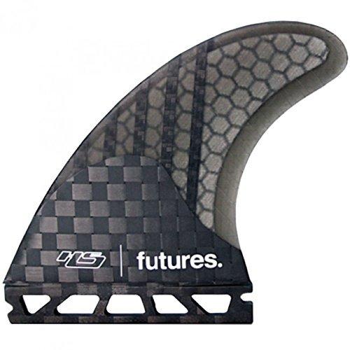 Future Fins世代シリーズHayden図形hs3 V2サーフボードハニカムカーボンThruster Fin Set ( XS ) by Futureフィン   B01KH4ZRLK