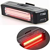 Water Resistant 100 lumens Super Bright USB Rechargeable LED Bike Taillight Street Mountain Children Bicycle Rear Light