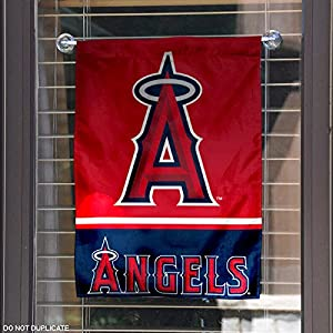 Los Angeles Angels Double Sided Garden Flag