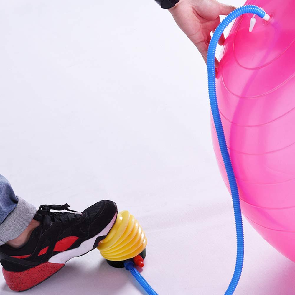 myonly Yoga-Ball Fu/ß-Luftpumpe f/ür Gymnastikball Sport aufblasbar Fu/ßpumpe Fitness