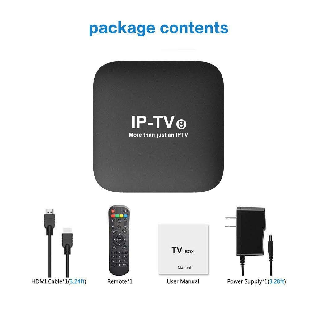 2019 Newest IPTV8 Box Better Faster Then HTV6 IPTV6+, HTV5 A2 A3 IPTV5+ 4k  canais do Brazil Upgraded, More Then 250 Live Brazilian IP TV Channels,